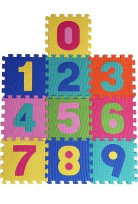 Giz Home Playmat Rakamlar Puzzle Oyun Matı Çocuk Odası Anaokulu Halısı