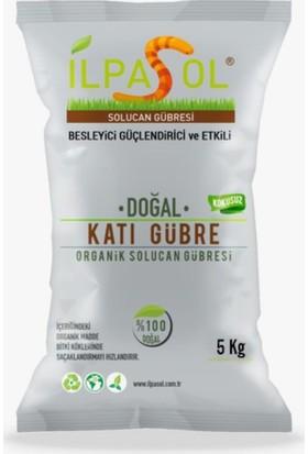 İlpasol %100 Organik Solucan Gübresi 5 Kg
