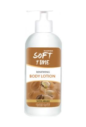 Huncalife Soft Time Argan Yağlı Gençleştirici Vücut Losyonu 400 ml