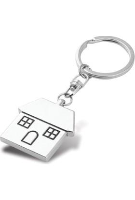 Ev Anahtarlık,Kişiye Özel Baskılı 2 Li Ev Anahtarlık Seti
