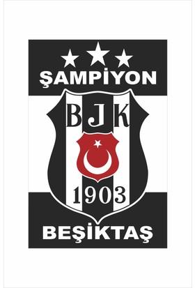 Gönder Bayrak 3 Yıldız Beşiktaş Bayrağı