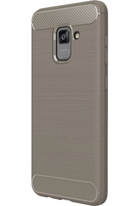 Microsonic Samsung Galaxy A8 2018 Kılıf Room Silikon