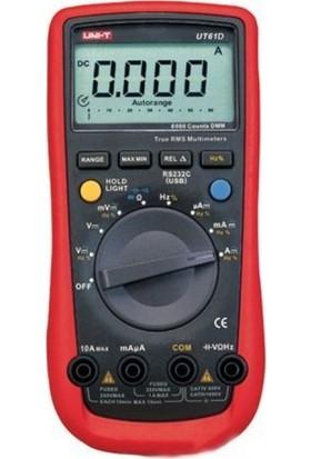 Unı-T Ut61D Dijital Multimetre Ölçü Aleti