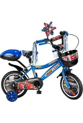 Şimşek çocuk bisikleti 15 Jant Mavi