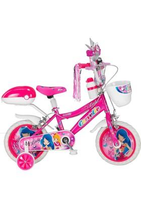 Lady çocuk bisikleti 15 Jant Pembe