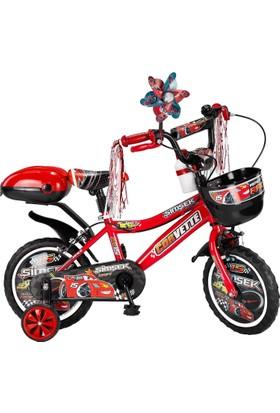 Şimşek çocuk bisikleti 15 Jant Kırmızı