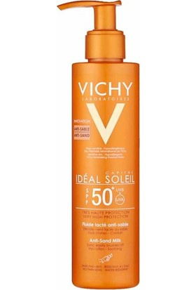 Vichy Ideal Soleil SPF50+ Anti Sand Milk 200 ml