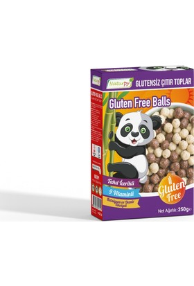 Naturpy Glutensiz Çıtır Toplar Gluten Free Balls 250 Gr
