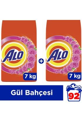 Alo Toz Çamaşır Deterjanı Beyazlar ve Renkliler İçin Gül Kokusu 7 kg + 7 kg
