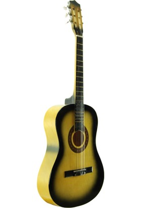 Sesenta SSC50SB Sunburst Klasik Gitar (Kılıf Hediyeli)