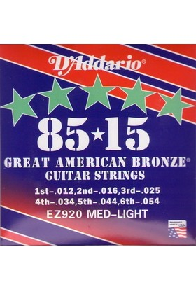Daddario EZ920 Akustik Gitar Teli