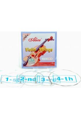 Alice A703 Alice High-Grade Violin Strings Keman Teli