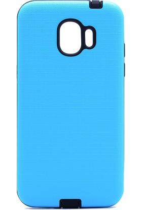Kny Samsung Galaxy J2 Pro 2018 Kılıf Ultra Korumalı New Youyou Silikon+Nano Cam Koruma