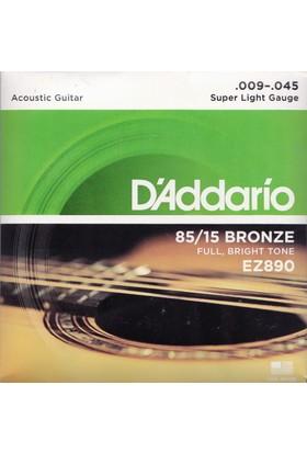 Daddario EZ890 Akustik Gitar Teli
