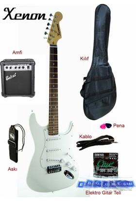 Xenon XNE3WHSET Elektro Gitar Seti