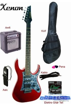 Xenon XNE4RDSET Elektro Gitar Seti