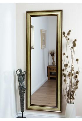 Tablo Center 40 x 100 cm Altın Varak Bronz Çerçeveli Boy Aynası