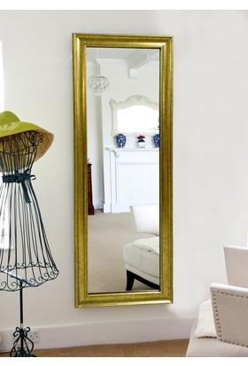 Tablo Center 40 x 100 cm Altın Varak Çerçeveli Boy Aynası