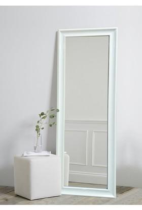 Tablo Center 40 x 100 cm Beyaz Lake Çerçeveli Boy Aynası