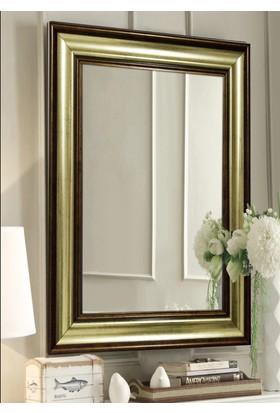 Tablo Center 40 x 50 cm Altın Varak Bronz Çerçeveli Ayna
