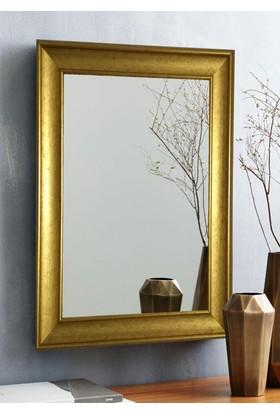 Tablo Center 40 x 50 cm Altın Varak Çerçeveli Ayna