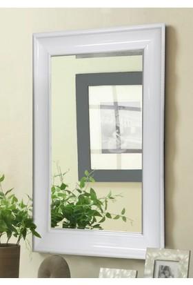 Tablo Center 40 x 50 cm Beyaz Lake Çerçeveli Ayna