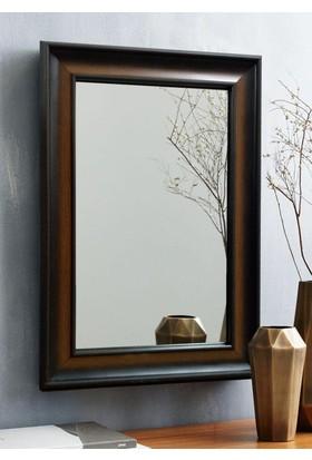 Tablo Center 40 x 50 cm Kahve Ahşap Çerçeveli Ayna