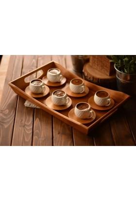 Bambum Fabele – 6 Kişilik Kahve Fincan Takımı