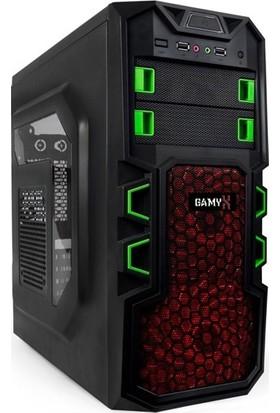Gamyx GMX6250 AMD Ryzen 5 2400G 8GB 500GB Freedos Masaüstü Bilgisayar