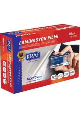 Kraf Laminasyon Filmi 78X102Mm 125Mıc 100Lü 2127
