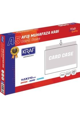 Kraf Afiş Muhafaza Kabı A5 2005