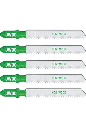 Hitachi 750042 5 Parça T Tipi Ahşap Profesyonel Dekupaj Bıçak Seti
