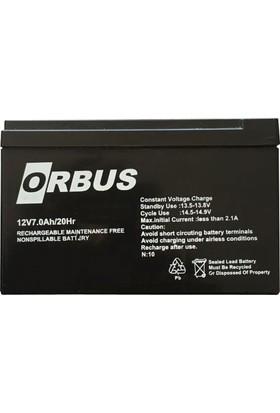 Orbus 12V7.0Ah/20Hr Pil Aküsü
