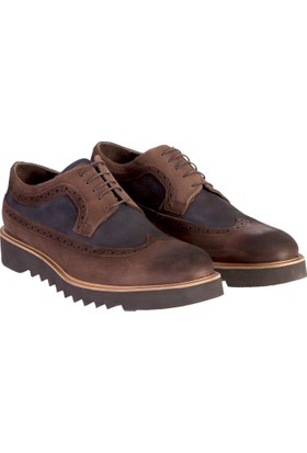 Kiğılı Eva Taban Nubuk Deri Ayakkabı