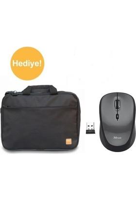 "Evocase EVO300 15,6"" Notebook Çantası Siyah + Trust YVI Kablousz Mouse 18519"