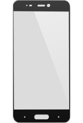 Case 4U Xiaomi Mi 5S Full Kapatan Cam Ekran Koruyucu Siyah