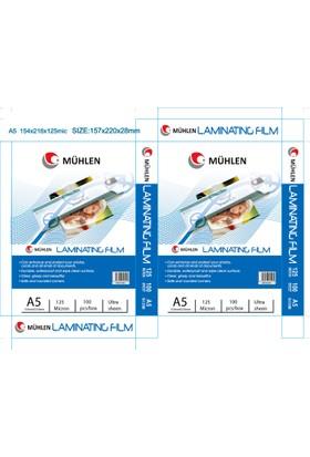 Laminasyon Filmi A5 125 Mc 100 Adet 1 Paket