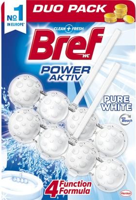 Bref Power Aktiv Çamaşır Suyu Etkili Klozet Blok 2'li Özel Paket