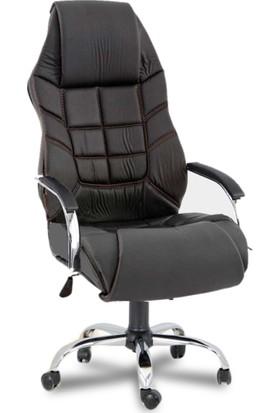 YMV Ofis Koltuğu, Ofis Sandalyesi, Saturn Müdür Koltuğu, Yönetici Koltuğu, Siyah