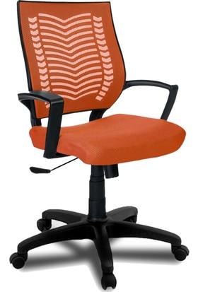 YMV Ofis Koltuğu, Ofis Sandalyesi, Show Çalışma ve Bilgisayar Sandalyesi , Turuncu