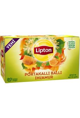 Lipton Ballı Portakallı Ihlamur 20'li