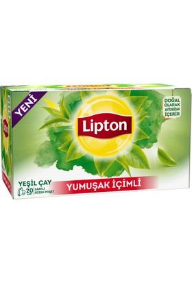 Lipton Yeşil Çay Yumuşak İçimli 20'li
