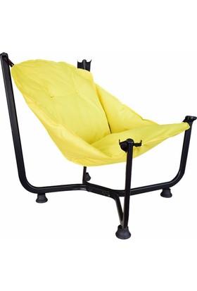 Bronzy Relax Bahçe Sandalyesi Sarı