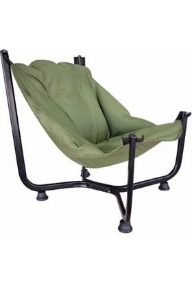 Bronzy Relax Bahçe Sandalyesi Yeşil