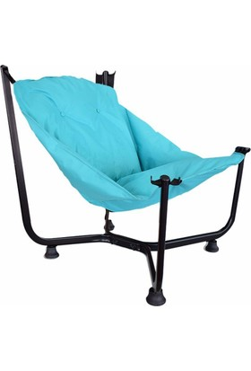 Bronzy Relax Bahçe Sandalyesi Mavi