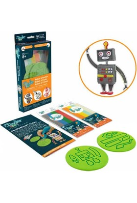 3Doodler Start (3 Boyutlu Kalem) İçin Doodleblock Kıts - Rocket