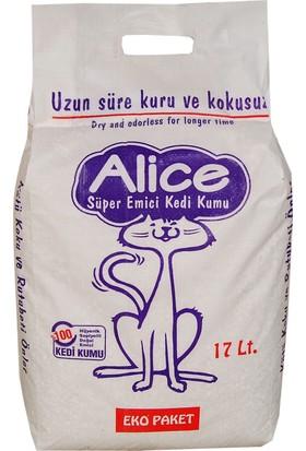 Alice Kedi Süper Emici Kumu Ekonomik 17 Lt. - 13 Kg