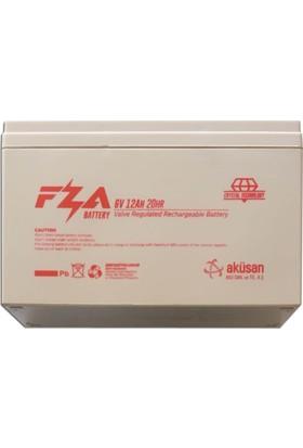 FZA 6V12Ah Akülü Araç Aküsü
