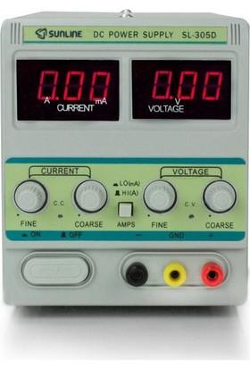Sunline 305 D Dc P.Supply 0-30V/0-5 A