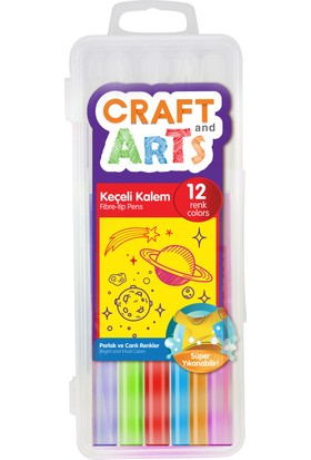 Craft And Arts Keçeli Kalem 12'Li Kutu